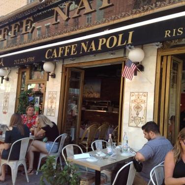 Italian cafe.