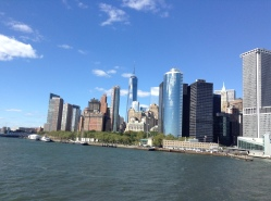 View from the Staten Island Ferry.