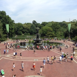 Fountain in Central Park.