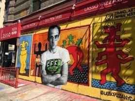 Artist on Street Art.