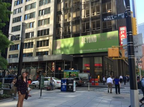 Wall Street District.