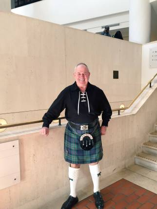 Scotsman in Kilts.